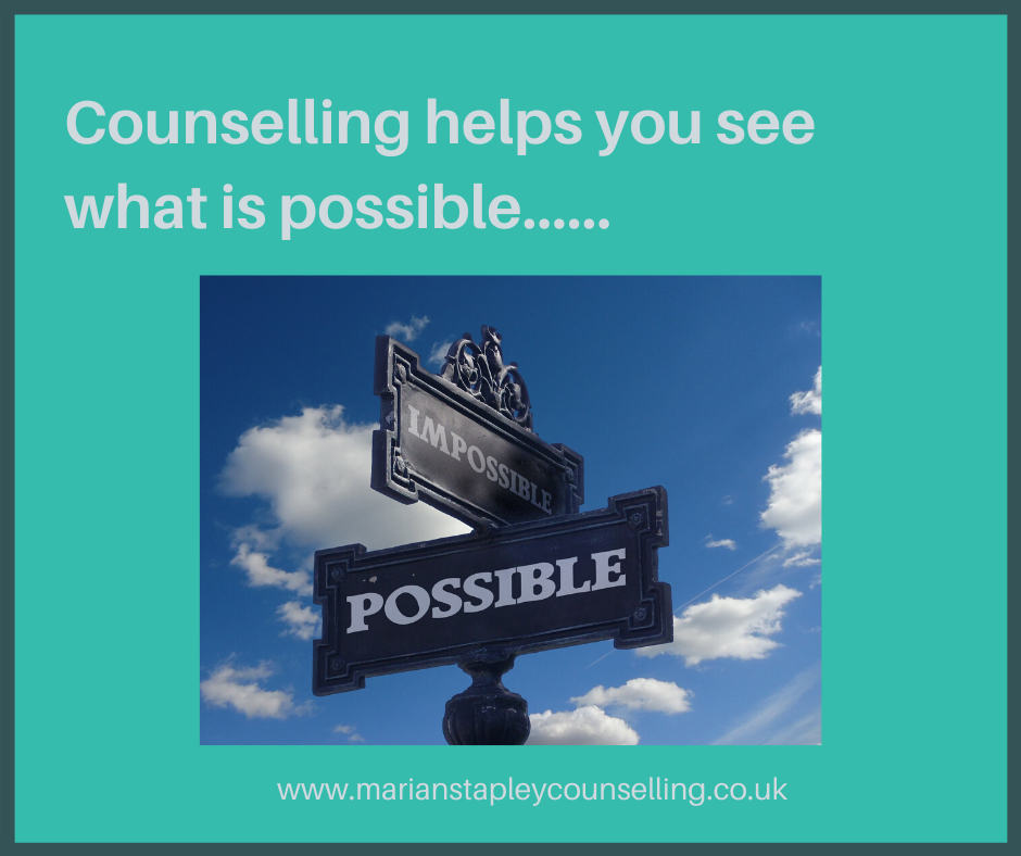 Counselling helps you possible